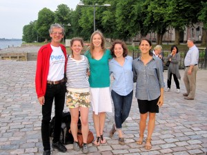 Sci4hels post-panel, photo by Arjan Raven